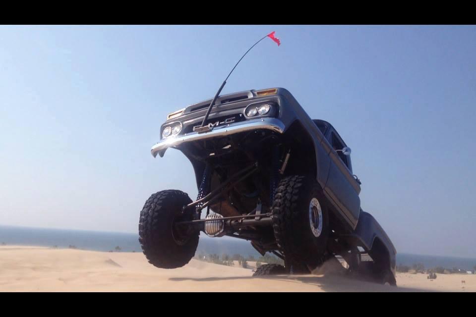 Sand dune flight